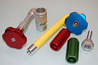 Anodized Extruded Handles and Powder Coated Parts